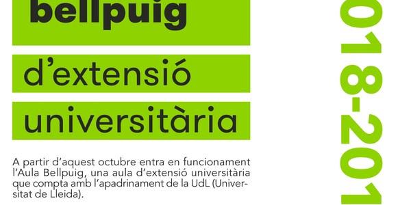 Aula Bellpuig: L'Estudi General de Lleida, primera universitat de Catalunya