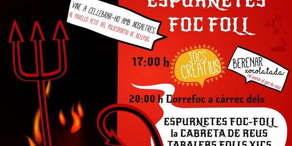 Celebració 10è aniversari Espurnetes Foc Foll