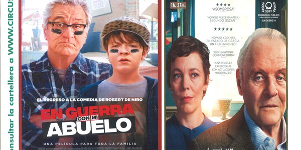 """Cinema: """"En guerra con mi abuelo"""""""