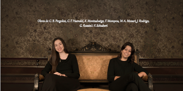 Concert amb Laura Cots i Judit Cases, soprano i mezzosoprano