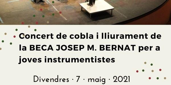 Concert de Cobla i lliurament de la Beca Josep M. Bernat per a joves instrumentistes de cobla