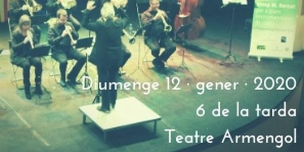 Concert de Reis i lliurament de la Beca Josep M. Bernat per a joves instrumentistes de cobla