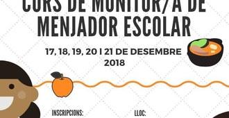 Curs de monitor/a de menjador escolar