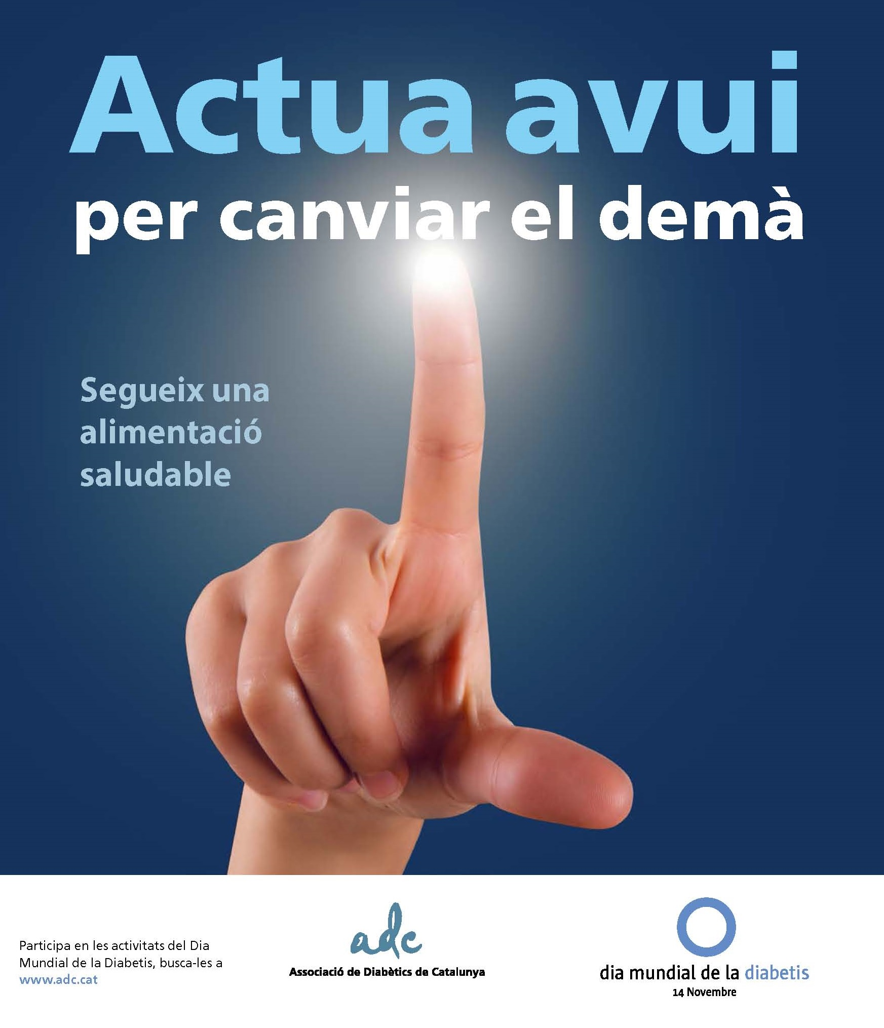 dia mundial de la diabetis ajuntament de bellpuig