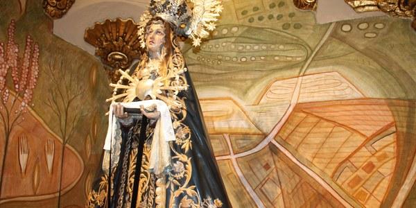 Festa Major 2021. Missa en honor a la Mare de Déu dels Dolors