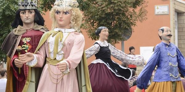 Festa Major 2021. Plantada de Gegants i Exposició del Seguici Popular amb la Colla Gegantera i els Tabalers Xics