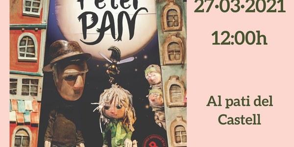 """Festa Major de Primavera. Espectacle de titelles """"Adéu Peter Pan"""""""