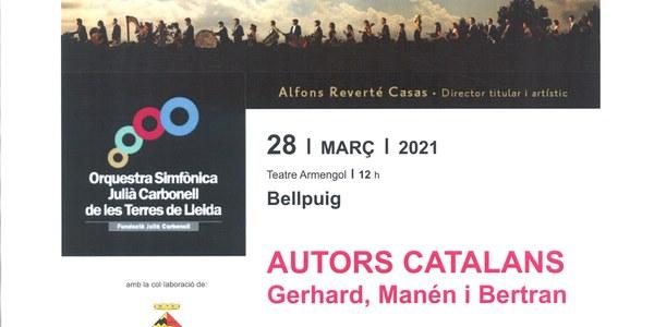 Festa Major de Primavera. Festival de Música Orquestra Julià Carbonell - Terres de Lleida