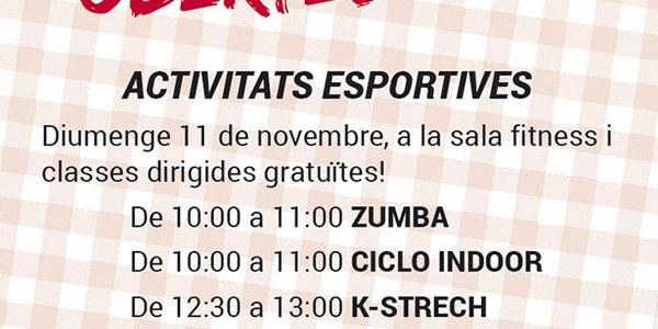 Activitats esportives i portes obertes al Gym Bellpuig