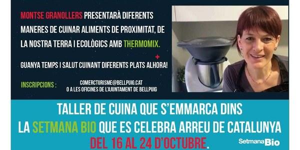 Fira Cuida't: Taller de cuina Fàcil, de proximitat, ecològica i saludable amb Thermomix