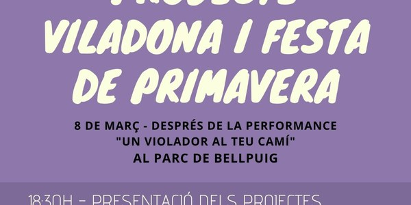 Presentació del projecte Viladona i de la Festa de Primavera