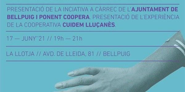 Presentació: Una cooperativa de serveis a la llar a Bellpuig?