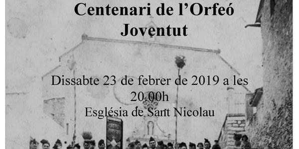 Primer concert del Centenari de l'Orfeó Joventut