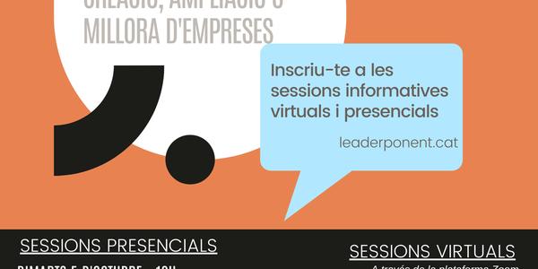 Sessió informativa dels ajuts Leader
