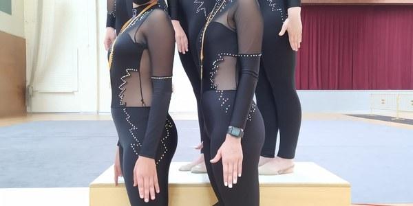 150 gimnastes participen al Trofeu Presencial de Rítmica de Bellpuig