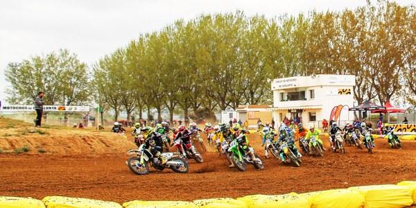 2a prova del Campionat de Catalunya de Motocròs a Bellpuig