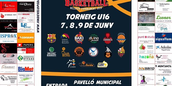 2n Torneig internacional VM DEVELOPS BASKETBALL BELLPUIG