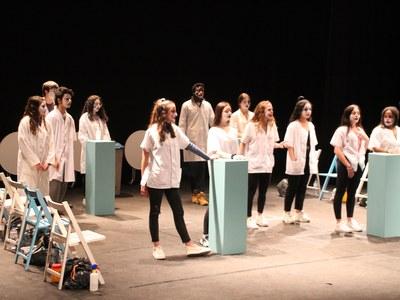 35a Trobada de teatre d'instituts a Bellpuig