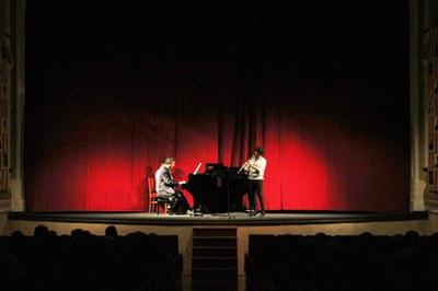 """3r concert del Cicle de concerts  del centenari de l'Orfeó Joventut de Bellpuig """"Concert de clarinet i piano"""""""