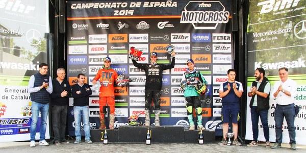 4a prova del Campionat d'Espanya de Motocròs 2019 a Bellpuig