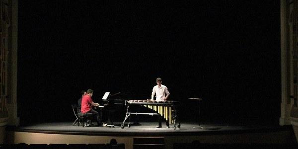 """5è concert del Cicle de concerts  del centenari de l'Orfeó Joventut de Bellpuig """"Concert de Marimba i Piano"""""""