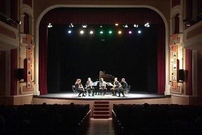 """Actuació de Barcelona Sax Project en el 6è Cicle de concerts """"Bellpuig Ressona"""""""