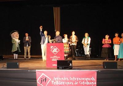 Bellpuig acull per 35a vegada les Jornades Internacionals Flolklòriques de Catalunya dins els actes de la Festa Major