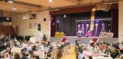 Bellpuig celebra el Cap d'Any amb una Festa al pavelló poliesportiu