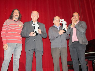 """Bellpuig celebra el Concert de Santa Cecília i lliura el 31è """"Mèrit musical de l'any"""" als Srs. """"Joan Chinchó i Josep Granollers"""""""