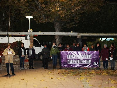 Bellpuig commemora el Dia internacional per a l'eliminació de la violència envers les dones