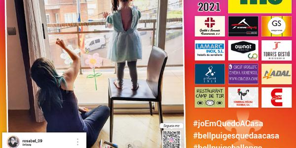 Bellpuig dedica el calendari 2021 al confinament general que va viure la població