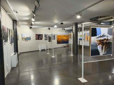 Bellpuig exposa els quadres del Concurs de Pintura Ràpida i del Concurs de Cartells de Festa Major