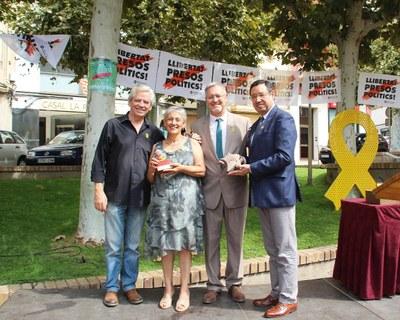 Bellpuig lliura el Premi Estel 2018 al Col·lectiu de Presos i Exiliats Polítics