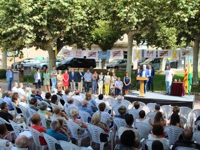 Bellpuig lliura el Premi Estel 2019 al Sr. Josep M. Matamala