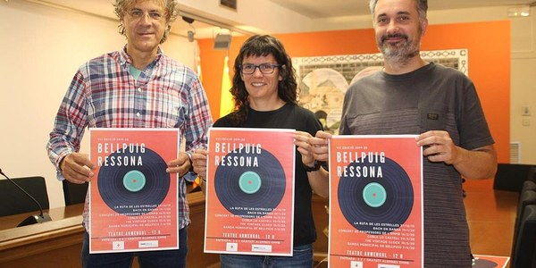 Bellpuig presenta el programa  del nou Cicle de concerts Bellpuig Ressona