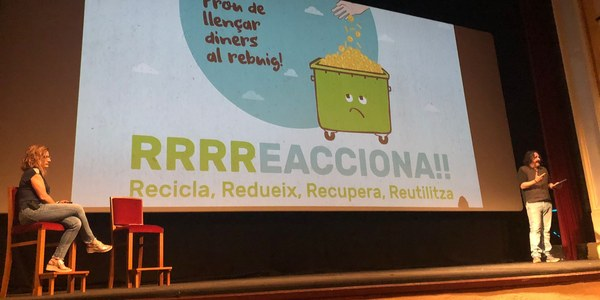 Bellpuig presenta el projecte per la millora del reciclatge al municipi