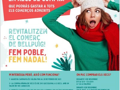 Campanya de Nadal a Bellpuig