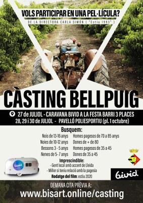 Càsting per a una pel·lícula a Bellpuig