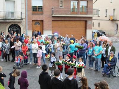 Celebració de la Diada Nacional de Catalunya a Bellpuig 2019