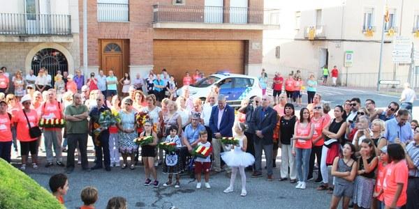 Celebració de la Diada Nacional de Catalunya a Bellpuig