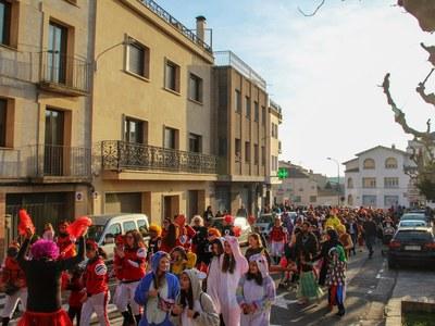 Celebració del Carnaval a Bellpuig 2020