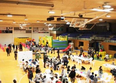 Cloenda del Parc de Nadal de Bellpuig que innovava amb una proposta a tres bandes que incloïa activitats per a joves