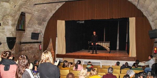 """Comença el 2n Cicle de Concerts de l'Orfeó Joventut amb """"VAM (Vida, Art i Mort)"""" un concert dramatitzat de marimba a càrrec de David Vergé"""