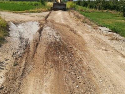 Comencen les obres d'arranjament dels camins de Bellpuig