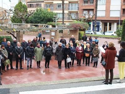 Commemoració del Dia internacional  per a l'eliminació de la violència envers les dones a Bellpuig
