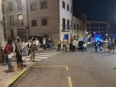Concentració en suport al president Carles Puigdemont