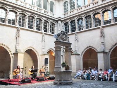"""Concert de """"Les Kol·lontai"""" al Convent de Sant Bartomeu de Bellpuig"""