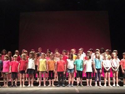 Concert de fi de curs de l'Escola Municipal de Música de Bellpuig