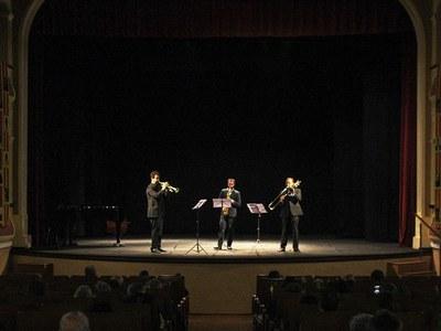 """Concert de professors de l'Escola Municipal de Música de Bellpuig a benefici del Rebost Solidari de Càritas al 7è Cicle de concerts """"Bellpuig Ressona"""""""