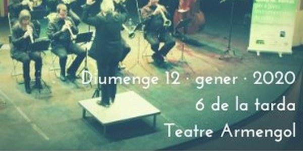 Concert de Reis a càrrec de la Bellpuig Cobla i lliurament de la XXV Beca Josep Maria Bernat per a Joves Instrumentistes de Cobla a Bellpuig